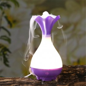 Magic Bottle Night Light Air Humidifier Aroma Therapy - Purple