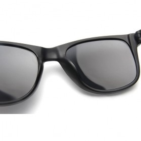 AOFLY Kacamata Retro Style - 1125 - Black - 6