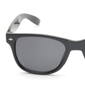 AOFLY Kacamata Retro Style - 1125 - Black - 7