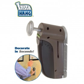 Insta Hang Dispensing Tool Easy Wall Hook /  Alat Gantung Dinding - Gray