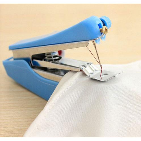 ... Mini Manual Sewing Household Machines / Mesin Jahit Portable - Blue - 3 ...