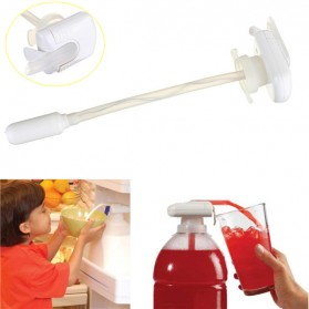 Magic Tap Automatic Electric Drink Pumping Device  / Pompa Minuman - White - 6