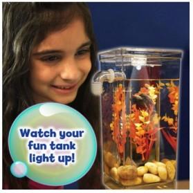 My Fun Fish TV New Products Goldfish Mini Tank Filter / Aquarium Mini - Transparent - 2