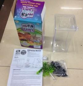 My Fun Fish TV New Products Goldfish Mini Tank Filter / Aquarium Mini - Transparent - 3