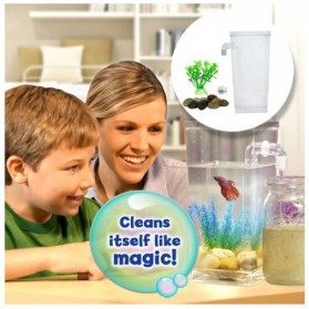 My Fun Fish TV New Products Goldfish Mini Tank Filter / Aquarium Mini - Transparent - 4