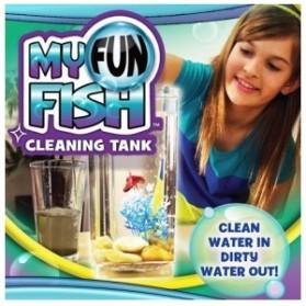 My Fun Fish TV New Products Goldfish Mini Tank Filter / Aquarium Mini - Transparent - 5