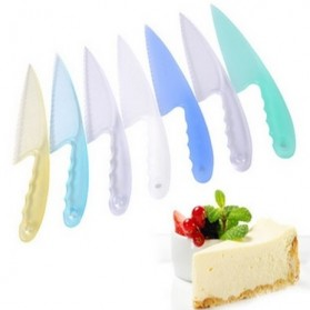 Creative Diy Home Baked Small Kitchen Cake Knife  / Pisau Kue - Multi-Color - 1
