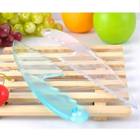 Creative Diy Home Baked Small Kitchen Cake Knife  / Pisau Kue - Multi-Color - 3