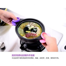 Silikon Jari Anti Panas - K210 - Multi-Color - 7