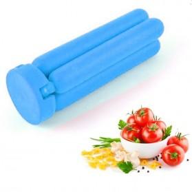 Cross Folding Silicone Pot Pad Placemat / Silikon Tatakan Panci - Blue