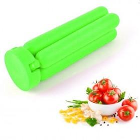 Cross Folding Silicone Pot Pad Placemat / Silikon Tatakan Panci - Green