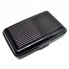 Dompet Travel Anti RFID - Black - 1