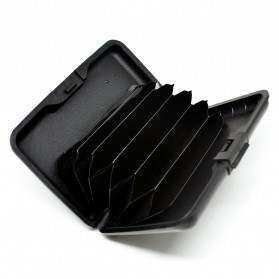 Dompet Travel Anti RFID - Black - 3