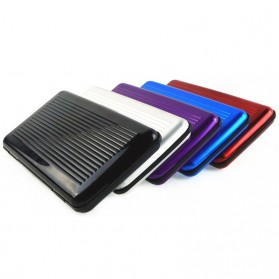 Dompet Travel Anti RFID - Black - 5