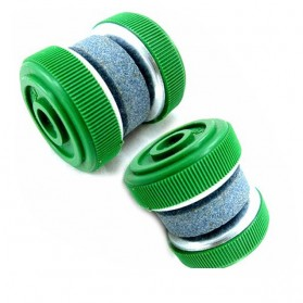 Multifunction Round Stone Sharpener / Pengasah Pisau - Green