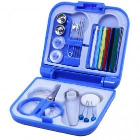 Perlengkapan Jahit Portable - Blue