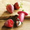 Strawberry Tomato Digging Tool Nuclear Device / Alat Buat Lubang Tomat Strawberry - Red