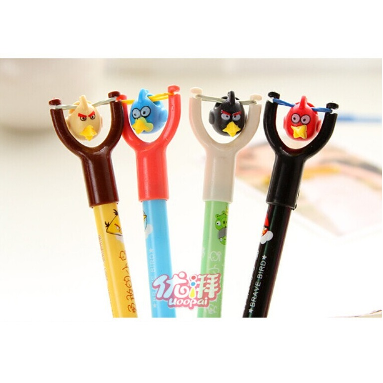 Toys For School : Slingshot toys angry bird pen school supplies pulpen