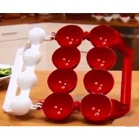 Stuffed Ball Maker Plastic Meatball / Cetak Daging Bakso - Red