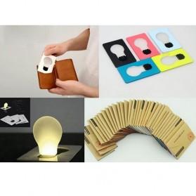 Dculex Lampu Kartu LED Portabel - Multi-Color - 2