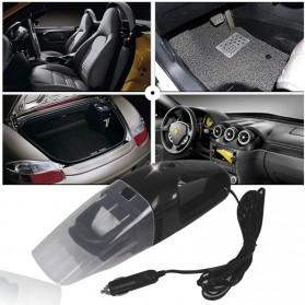 Car Vacuum Cleaner 75W / Mesin Penyedot Debu Mobil - Black - 7