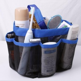 Travel Mesh Shover Bag / Tas Mandi - Black - 2