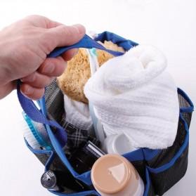 Travel Mesh Shover Bag / Tas Mandi - Black - 3