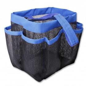 Travel Mesh Shover Bag / Tas Mandi - Black - 4