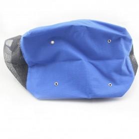 Travel Mesh Shover Bag / Tas Mandi - Black - 6