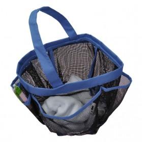 Travel Mesh Shover Bag / Tas Mandi - Black - 7
