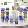 Marvel Spin n Store Kitchen Organizer with 24 Plastic Storage