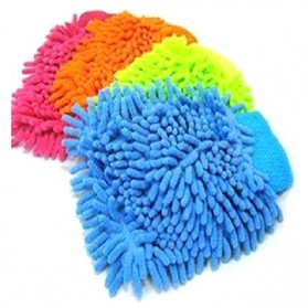 VODOOL Microfiber Cleaning Glove / Sarung Tangan Pembersih Debu - 14637 - Multi-Color