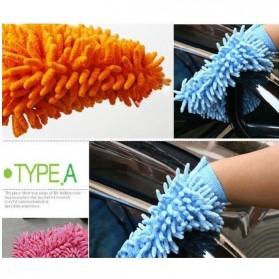 VODOOL Microfiber Cleaning Glove / Sarung Tangan Pembersih Debu - 14637 - Multi-Color - 5