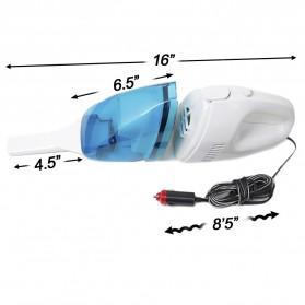 Car Vacuum Cleaner 65W / Mesin Penyedot Debu Mobil - White - 4