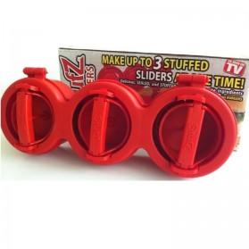 Stufz Sliders Hamburger Maker / Cetakan Hamburger - Red
