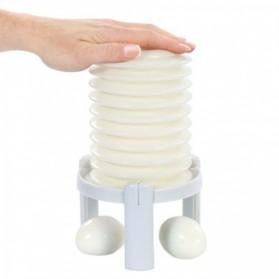Eggstractor Easy Egg Peeler Pengupas Kulit Telur - White