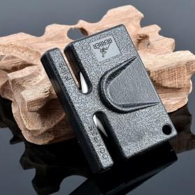 Gerber Pengasah Pisau Mini Portable Pocket Knife Sharpener - GLKS-2 - Black