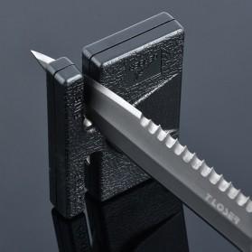 Gerber Pengasah Pisau Mini Portable Pocket Knife Sharpener - GLKS-2 - Black - 2