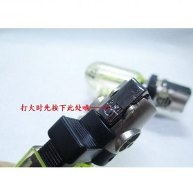 Firetric Tin Pioneer Windproof Powerful Micro Gas Torch Flame - 7MK2AF - 9