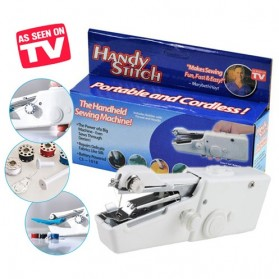 EnName Handy Stitch Portable Handheld Sewing Machine - HG060 - White