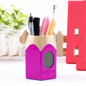 Calendar Pencil Holder Charm - Pink