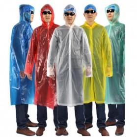 Jas Hujan Portable Dengan Tali - Transparent