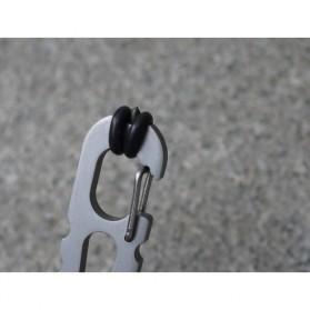 Swordfish Crowbar Screwdriver EDC Multifunction Tool - Silver - 4