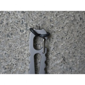 Swordfish Crowbar Screwdriver EDC Multifunction Tool - Silver - 5