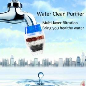 Tap Water Clean Purifier Filter for 16-19mm Faucet / Filter Keran Air - HY-028 - Blue