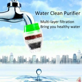 Tap Water Clean Purifier Filter for 16-19mm Faucet / Filter Keran Air - Green