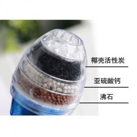 how to clean water faucet filter
