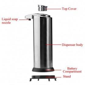 Svavo Stainless Steel Sensor Soap Dispenser / Sabun Otomatis - AD-03 - Silver - 8