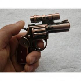 Pemantik Api Model Pistol dengan Laser - Bronze - 6