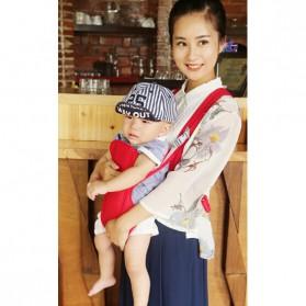 Tas Gendong Bayi Baby Carrier - Deep Blue - 7
